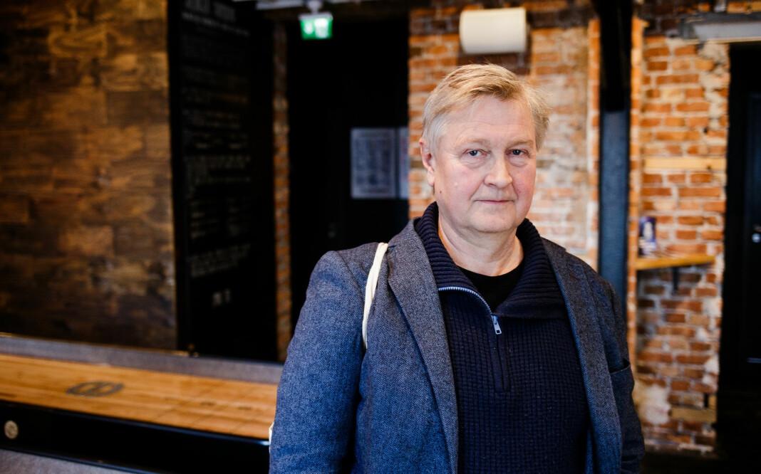 Ansvarlig redaktør Kjetil Haanes er svært kritisk til at Nett.no ikke får pressestøtte. Foto: Eskil Wie Furunes