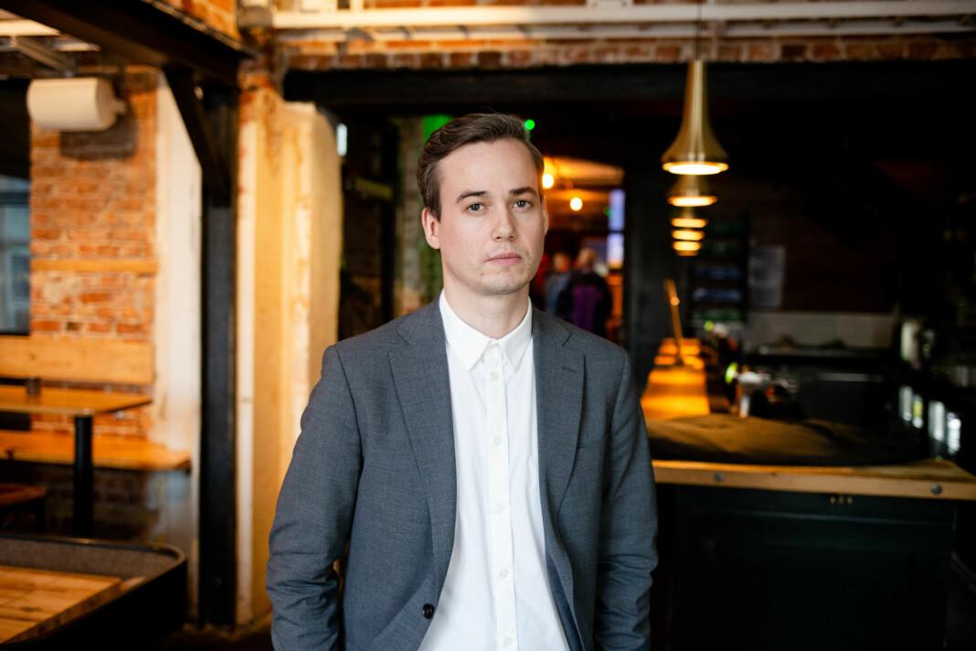 – Vi har jo vært ganske klar på at vi mener at vi kvalifiserer for å ta imot produksjonstilskudd, sier Jonas Pettersen, redaksjonssjef for Dagbladet Pluss. Foto: Eskil Wie Furunes