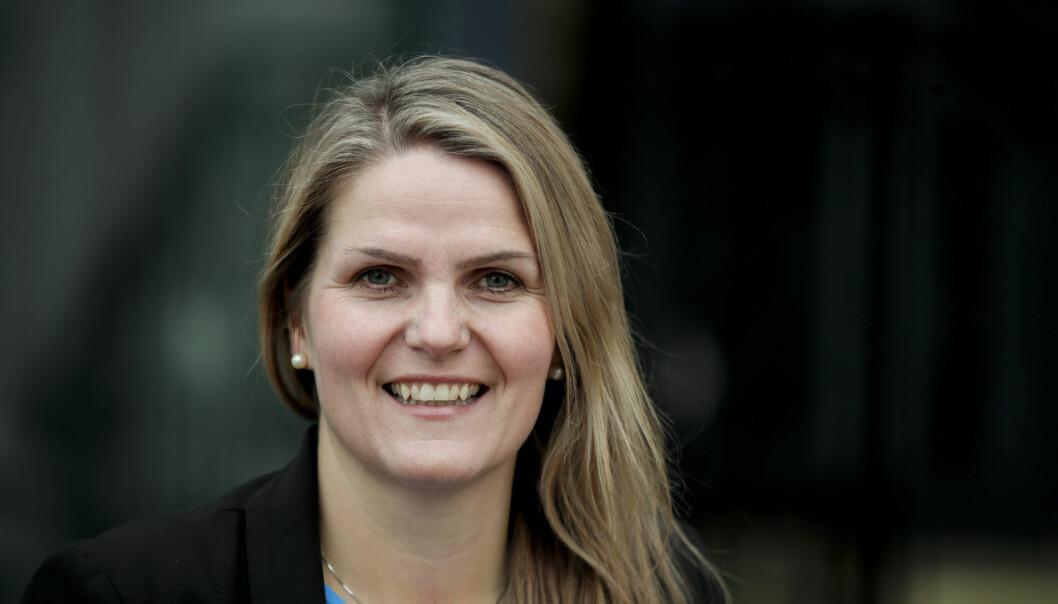 Redaktør Karoline Riise Kristiansen i Nynorsk pressekontor blir språksjef i NRK. Foto: Vidar Ruud / NTB scanpix
