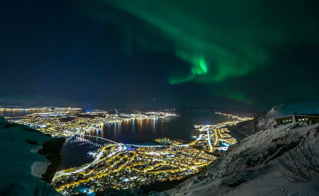 Nå legges det til rette for mer arktisk journalistikk. Troms fylkeskommune utlyser fire stipender på 65.000 kroner hver. Foto: Ynge Olsen / Arctic Frontiers