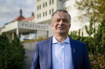 Fylkesrådsleder Willy Ørnebakk i Troms fylkeskommune peker på at utviklingen i Arktis har innvirkning på hele Norge. Foto: Lars Åke Andersen / Troms fylkeskommune
