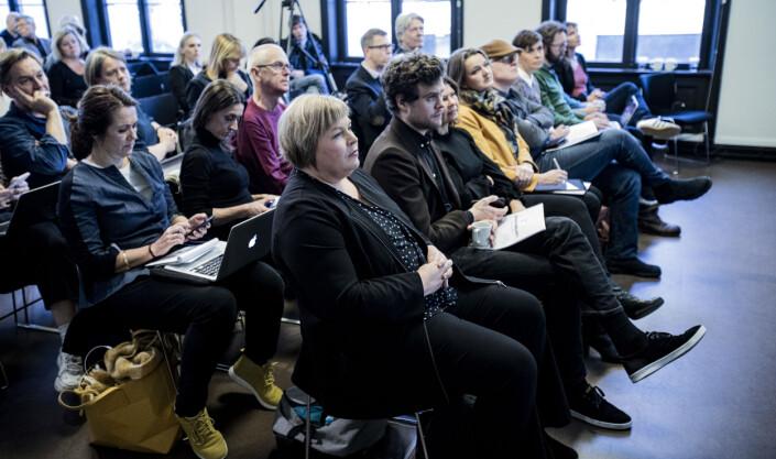 Generalsekretær Elin Floberghagen fikk offisielt overrakt kildeutvalgets rapport tirsdag. Foto: Roger Aarli-Grøndalen