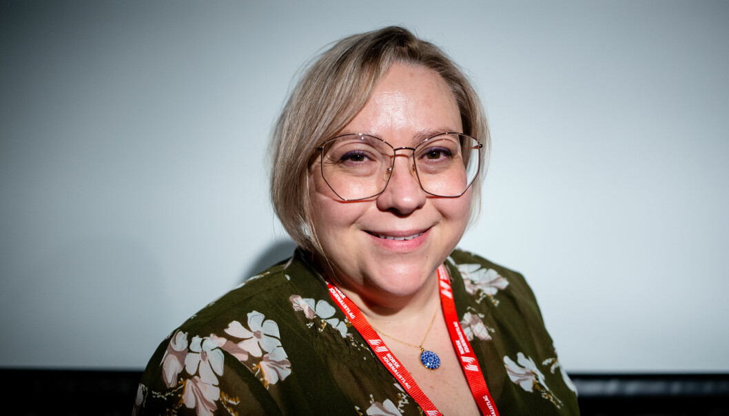 Ann-Kristin Hanssen er journalist i Fremover i Narvik, og vara i Norsk Journalistlags landsstyre. Foto: Eskil Wie Furunes