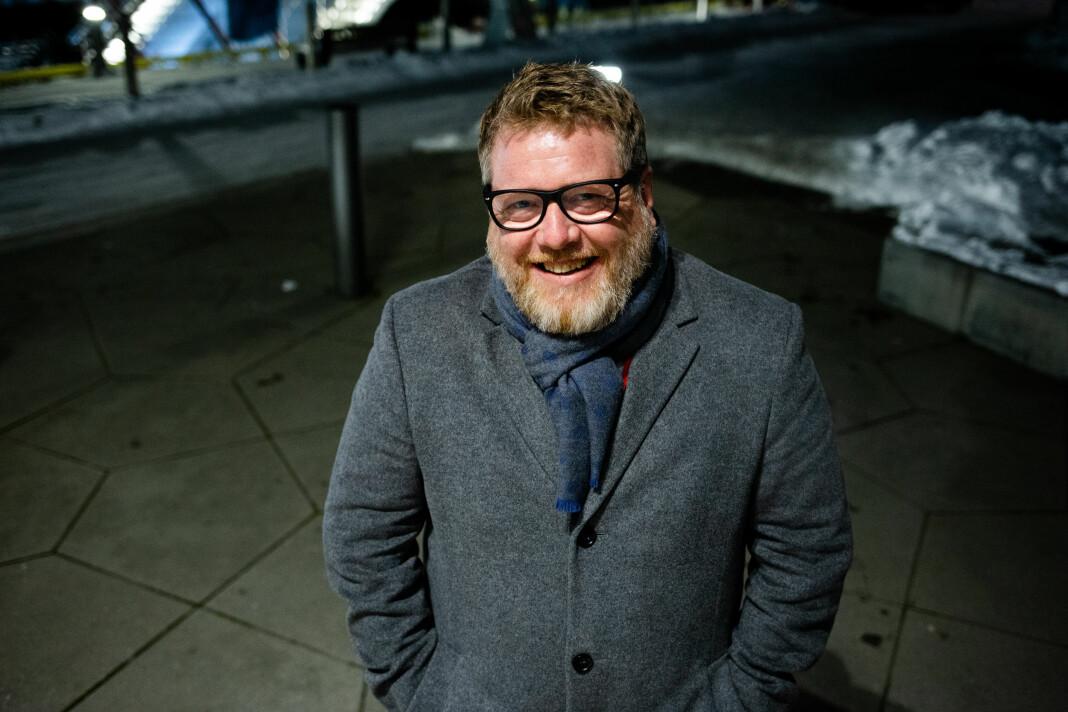 – PR-folk er mindre interessert i pressen enn dere tror, for de jobber med beslutningstakere, sier Steffen Fjærvik. Foto: Eskil Wie Furunes
