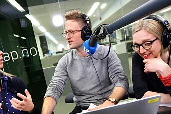 Lars Glomnes skal nå jobbe heltid med Aftenpodden