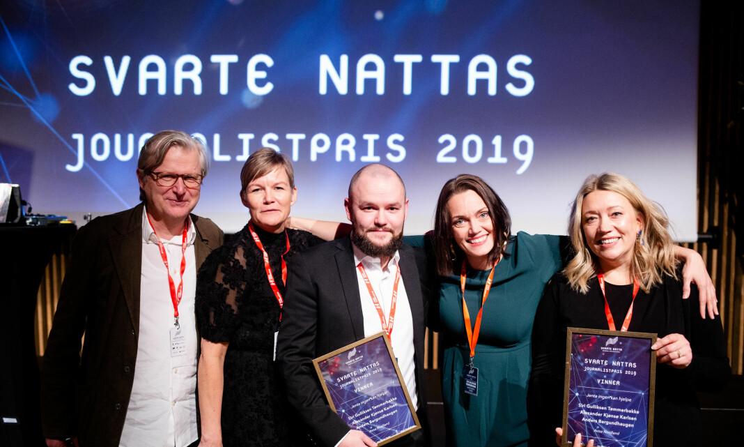 Hyller samarbeidet med Senter for undersøkende journalistikk etter Svarte Natta-prisen