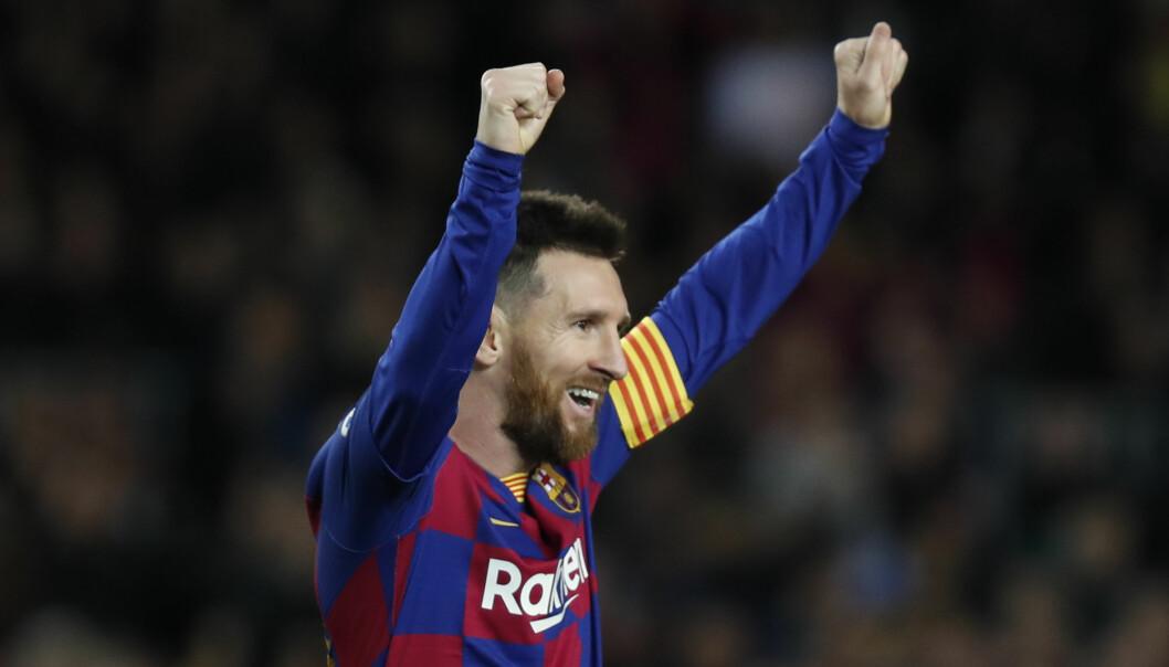 Barcelonas Lionel Messi skal spille den spanske supercupen i Saudi-Arabia. Det har ført til flere protester. Foto: Joan Monfort / AP / NTB scanpix.