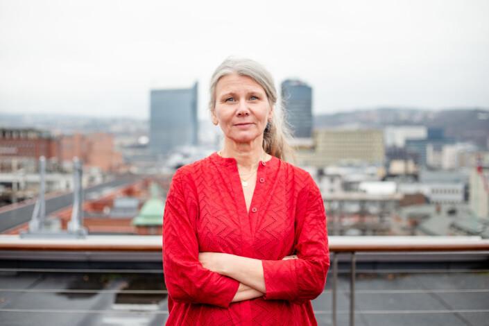Fungerende fotosjef i VG, Annemor Larsen. Foto: Eskil Wie Furunes