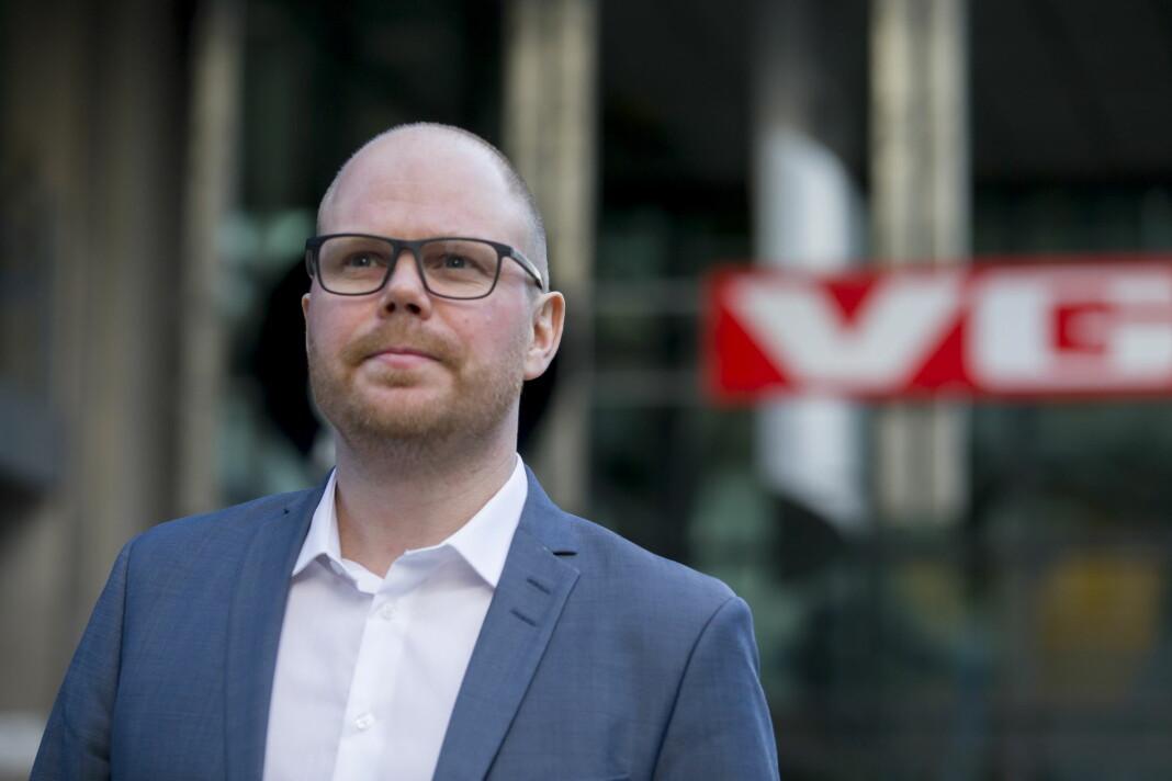 Sjefredaktør Gard Steiro ønsker ikke at VGs redaksjonelt ansatte skal bruke den kommende smittesporings-appen.
