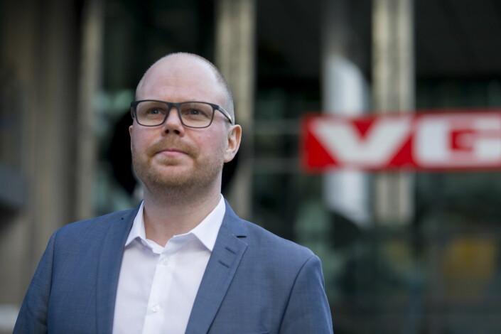 Sjefredaktør i VG, Gard Steiro. Foto: Cornelius Poppe / NTB scanpix