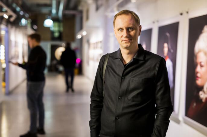 Festivalsjef Kim Nygård for Trondheim Dokumentarfestival. Foto: Kristine Lindebø