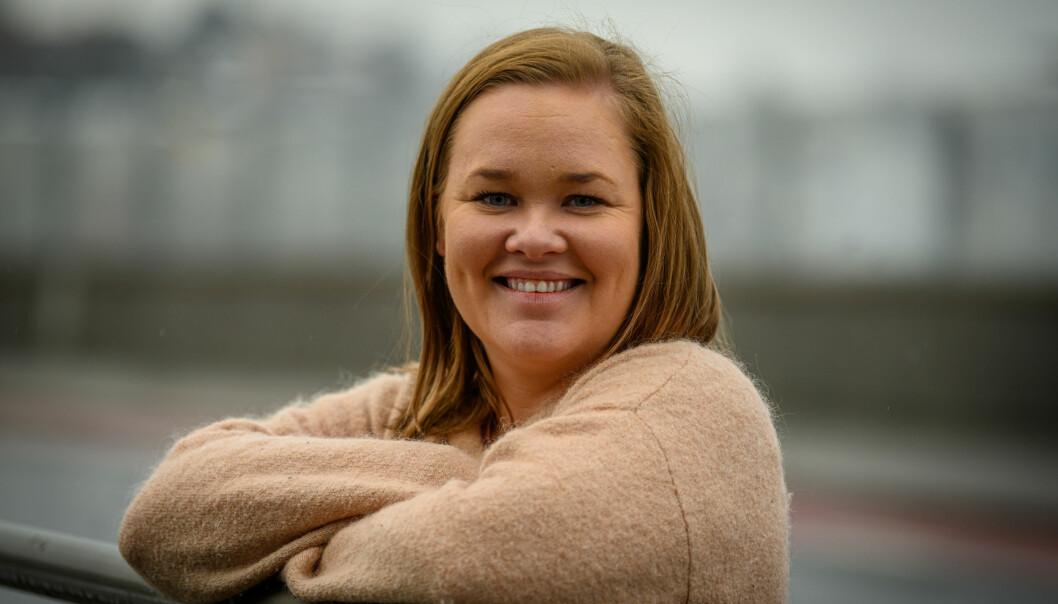 Ine-Elise Høiby forlater Svelviksposten, men blir i Amedia.