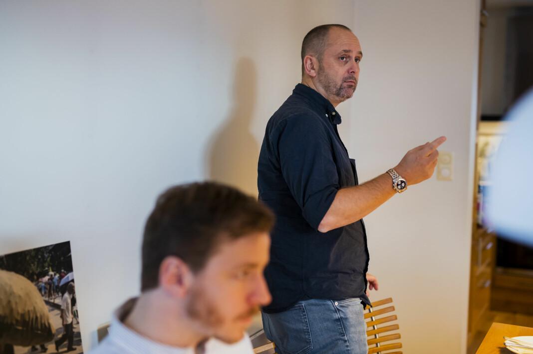 Leder i Pressefotografenes klubb, Jarle Aasland, varsler at 2. og 3. prisene forsvinner, samt flere kategorier. Foto: Kristine Lindebø