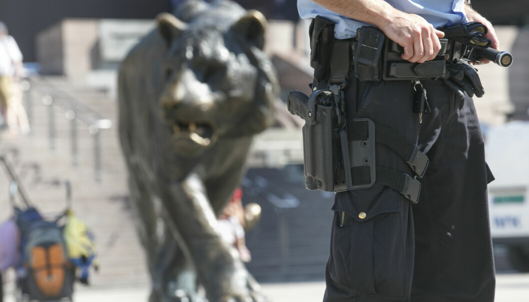 Det tok to dager før politiet fortalte om drapsforsøket på Oslo S tirsdag. Illustrasjonsfoto: Heiko Junge / NTB scanpix