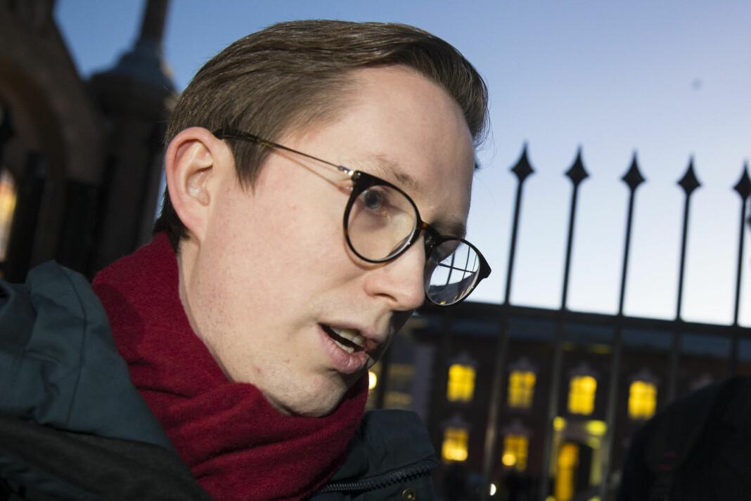 Den tidligere Unge Høyre-lederen Kristian Tonning Riise prater ut med TV 2 om varslene mot ham som gjorde at han trakk seg fra stillingen i 2018. Foto: Håkon Mosvold Larsen / NTB scanpix