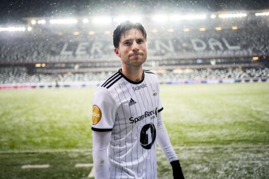 Rosenborgs Marius Lundemo ble matchvinner. Foto: Ole Martin Wold / NTB scanpix