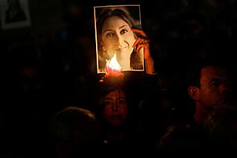 Mistenkt mellommann pågrepet på Malta etter journalistdrap