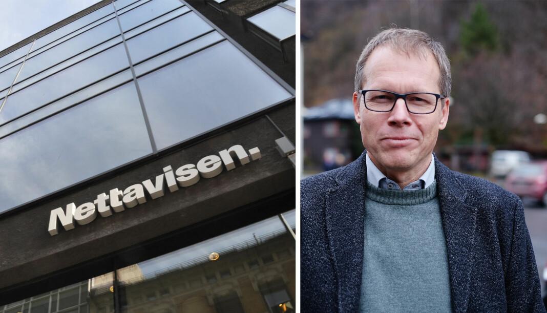 Trond Lepperød er valgt som ny leder for redaksjonsklubben i Nettavisen. Foto: Amedia og Privat