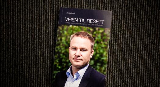 Resetts oppslag om Helge Lurås' nye bok ble skrevet av ham selv: – Blir neppe toppoppslag på et annet medium