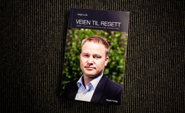 Boken «Veien til Resett» av Helge Lurås er gitt ut på Resett forlag, og ble tilgjengelig for allmennheten forrige uke.