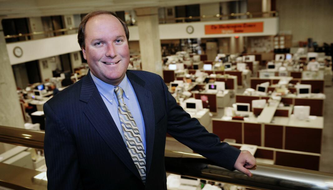 John Solomon fra da han var sjefredaktør i The Washington Times i 2008.