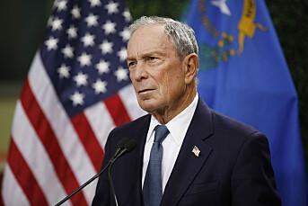 2700 journalister jobber for Michael Bloomberg. Nå vil han bli USAs neste president