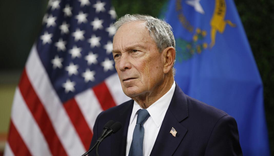 Tidligere New York-ordfører og eier av medieselskapet Bloomberg, Michael Bloomberg, har kunngjort at han stiller som kandidat i Demokratenes nominasjonskamp. Foto: John Locher / AP / NTB scanpix
