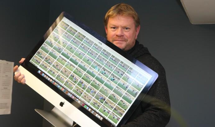 Redaktør Alf-Einar Kvalavåg. Foto: Mona Terjesen / Tysvær Bygdeblad