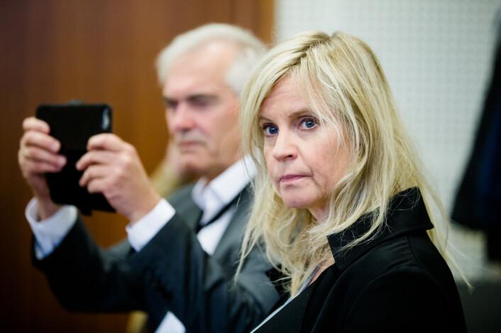 Karianne Solbrække, nyhetsredaktør i TV 2, i en annen anledning.