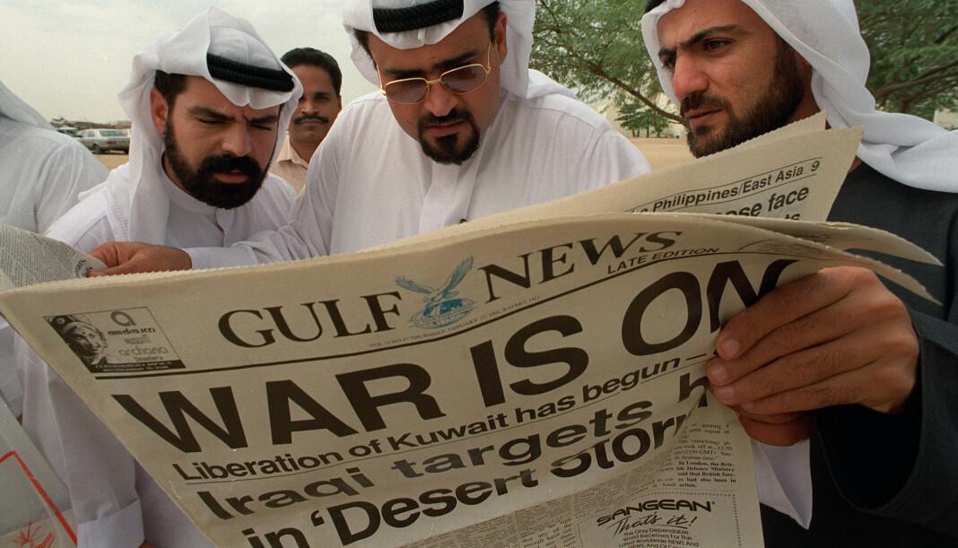 Drapsdømte Francis Matthew var tidligere redaktør for Gulf News. Arkivfoto: Reuters / NTB scanpix