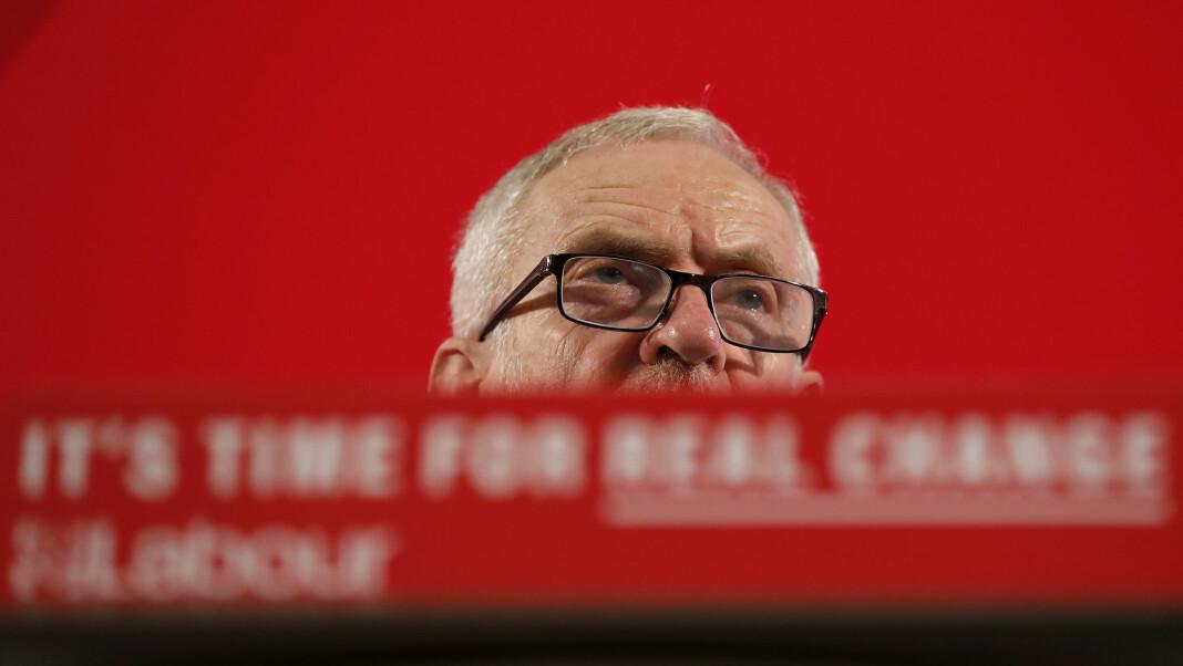Labours partileder Jeremy Corbyn dropper to planlagte TV-debatter denne uka. Foto: Frank Augstein / AP / NTB scanpix