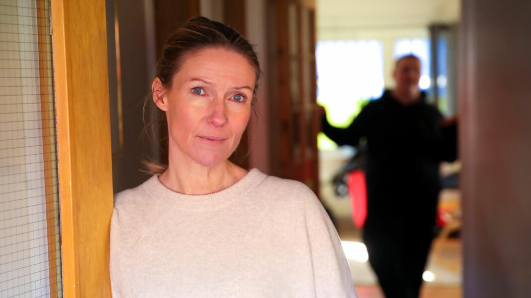 Helene Sandvig har tilbrakt fem dager med beboerne på Alfheim ungdomshjem i Halden. Foto: Anders Leines / NRK