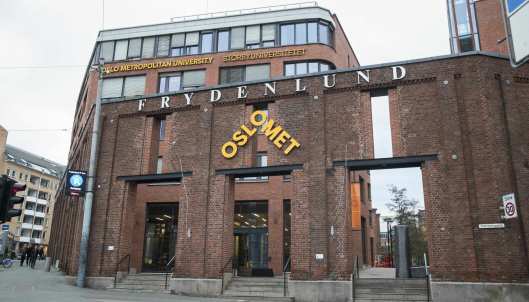Oslo Mets Institutt for journalistikk og medier skal få ny leder fra august. Foto: Berit Roald / NTB scanpix