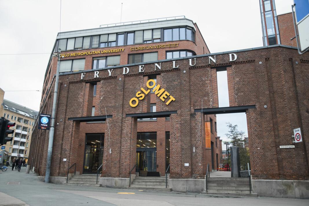 I januar 2018 ble Høgskolen i Oslo og Akershus til OsloMet – storbyuniversitetet. Foto: Berit Roald / NTB scanpix