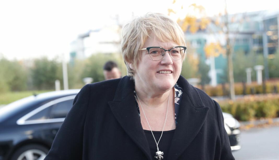 Regjeringen med Trine Skei Grande (V) skal oppnevne en ny ytringsfrihetskommisjon på nyåret. Arkivfoto: Terje Bendiksby / NTB scanpix