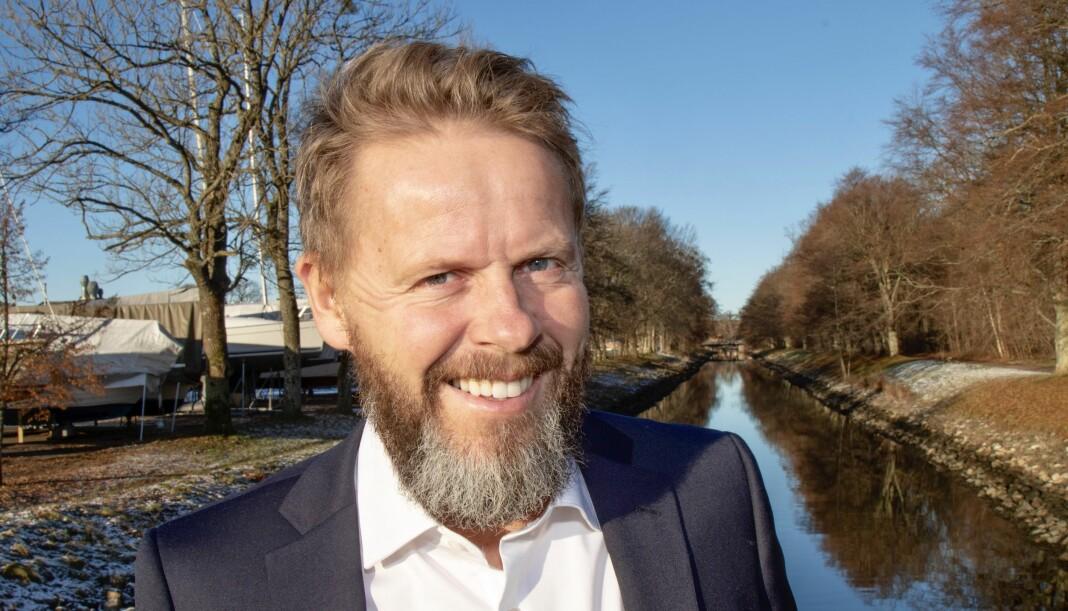 Påtroppende ansvarlig redaktør og daglig leder i Gjengangeren, Torgeir Lorentzen. Foto: Knut G. Bjerva