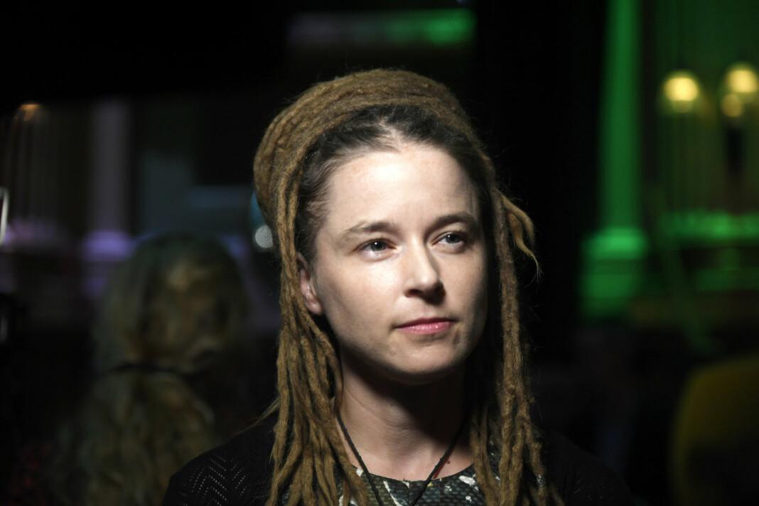 Sveriges kulturminister Amanda Lind (MP), mener regjeringa bør se på problemer med podkastetikk.