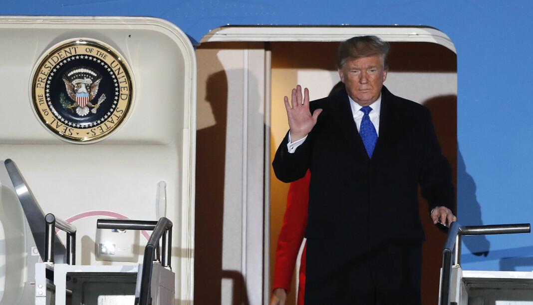 President Donald Trump vil ikke slippe til journalister fra Bloomberg News under den kommende valgkampen etter at eieren, Michael Bloomberg kastet seg inn i valgkampen.