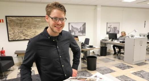 Magnus Franer-Erlingsen er ny ansvarlig redaktør Sande Avis