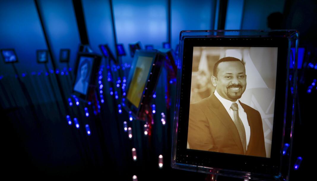 Etiopias statsminister Abiy Ahmed vil ikke møte pressen når han kommer til Oslo neste uke for å motta Nobels fredspris.