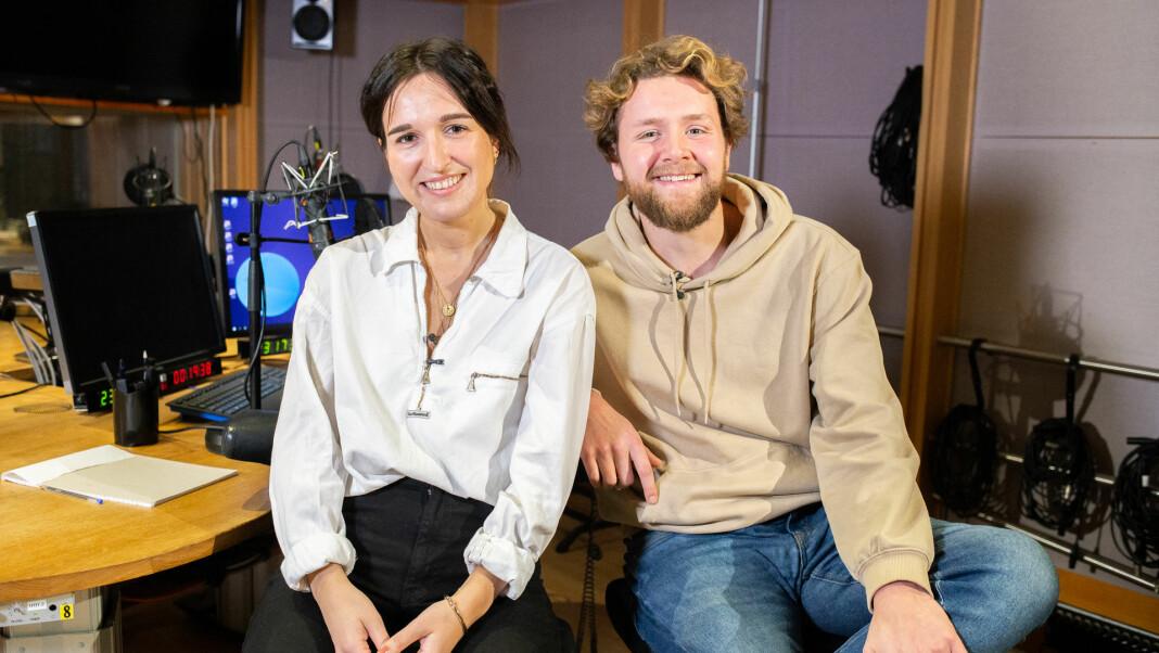 Martin Lepperød og Adelina Ibishi skal lede P3morgen fra og med januar 2020.