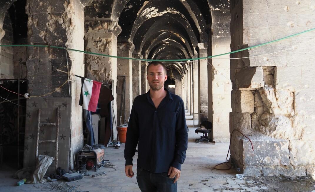 10 turer til Syria har det blitt på Ole Øyvind Sand Holth for å fullføre bokprosjektet.