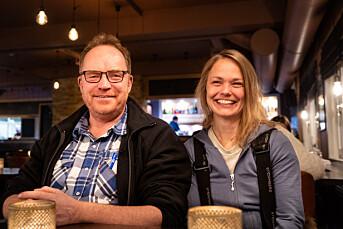 Gunnar Sætra og Lina Winge er ansatt i Sør-Varanger Avis