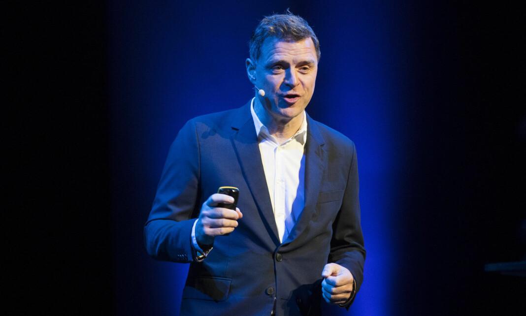 Espen Egil Hansen går over i en direktørstilling i Schibsted.