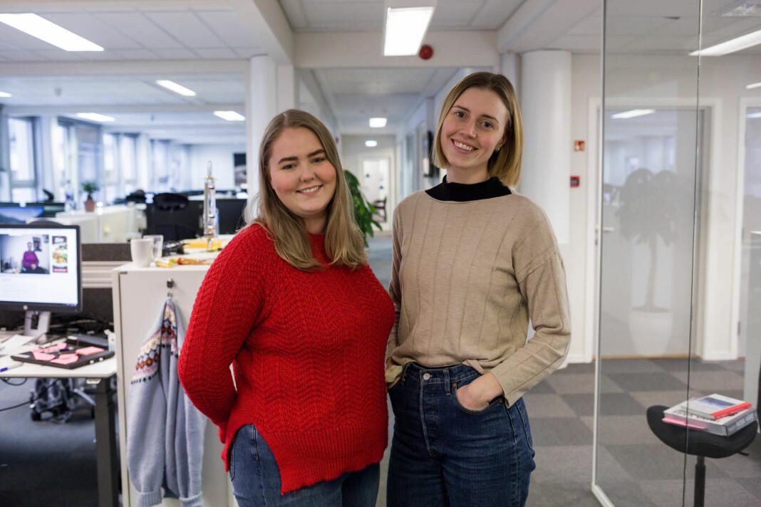 Tonje Noreng Trøen og Sanne Slåtten har fått fast jobb i Firda.