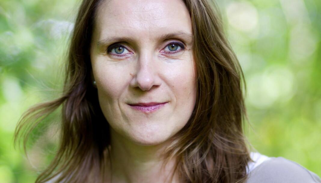 Konserntillitsvalgt i Amedia, Eva Stenbro. Foto: Lisbeth Andresen