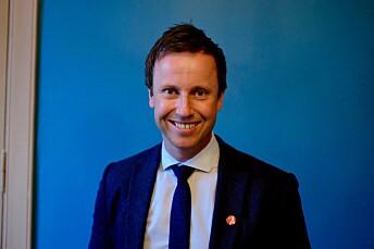 Gard Sandaker-Nielsen, leder i Åpen folkekirke.
