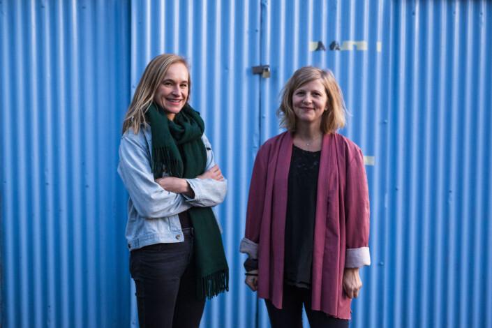 Journalistene Heidi Taksdal Skjeseth og Ingerid Salvesen lager «Journalistikk LIVE», og lover nytt show «til våren en gang».