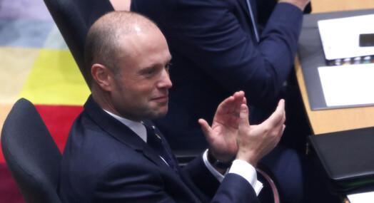 EU-parlamentet mener Maltas statsminister må gå av