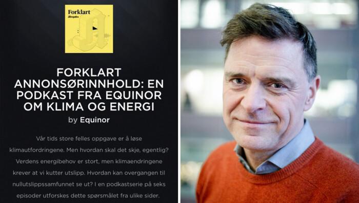 Aftenposten gjør flere endringer etter kritikk mot Equinor-podkast